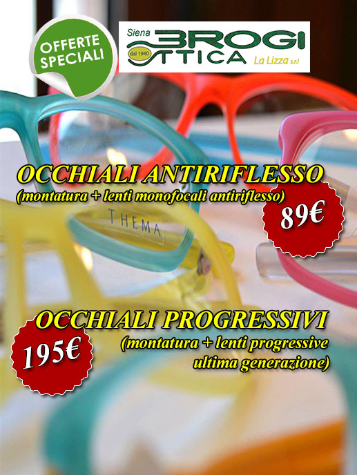 Offerte Brogi Ottica